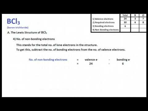 BCl3 Lewis Structure and Molecular Geometry - YouTube Xeo3 Lewis Structure Geometry