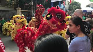 Lion dance in Cambodia 2018