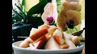 Banana Apple Salad (vegan, raw) ~ Take 3