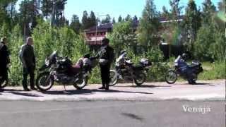 Exploring Viena Karelia by Motorbikes