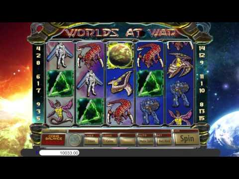 Worlds At War™ free slots machine by Saucify preview at Slotozilla.com