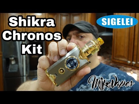video Sigelei Shikra 200w Starter Kit