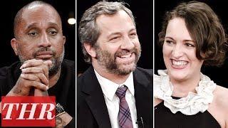THR Full Comedy Showrunner Roundtable: Judd Apatow, Phoebe Waller-Bridge, Kenya Barris & More!