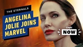 Angelina Jolie Joining the MCU - IGN NOW