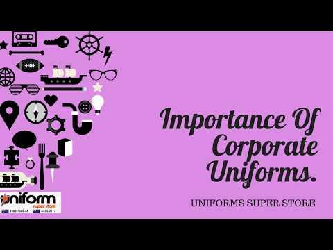 Importance Of Corporate Uniforms Online|Uniforms Super Store
