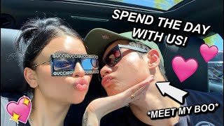 spend the day with us! (meet my man lol)