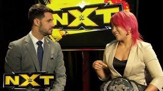 Tom Phillips Interviews Asuka: NXT, September 7, 2016