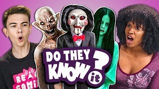 Do Teens Know 2000s Horror Films? (React: Do They Know It?)