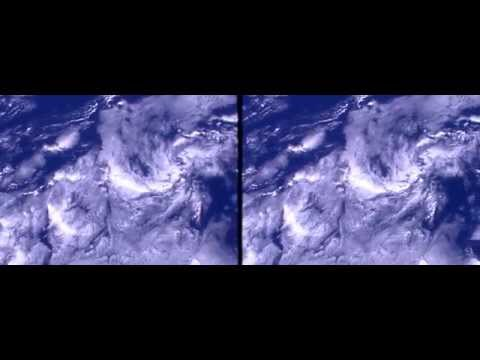 ISS HDEV Earth View from space Portugal Österreich Bodensee real 3D Stereoscopic