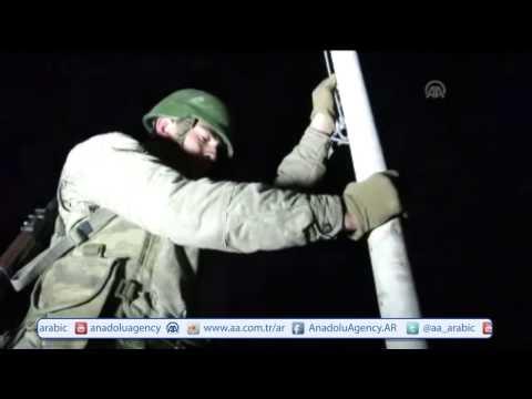 شاهد.. الجيش التركي ينقل رفات جد مؤسس الدولة العثمانية من سوريا