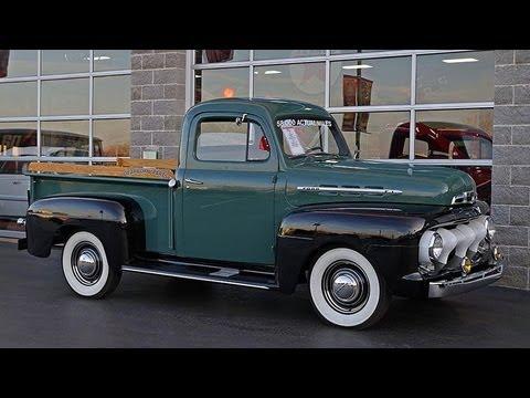 1951 Ford F1 Pickup 239 Flathead V8 3spd 58xxx Actual