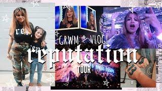 I FRIGGIN WENT TO THE REPUTATION TOUR! 🐍 | grwm + taylor swift concert vlog