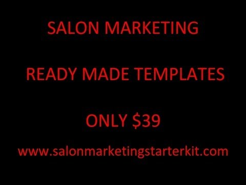 Salon marketing perth