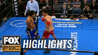 Money Powell IV responds with KO after cheap shot by Christian Aguirre | HIGHLIGHTS | PBC ON FOX - YouTube
