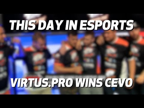 This Day in eSports - Virtus.Pro Wins CEVO