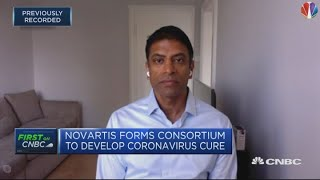 We have an impressive candidate vaccine for coronavirus, Novartis CEO says | Squawk Box Europe