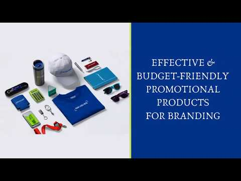 Effective & Budget-Friendly Promotional Products For Branding