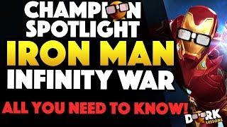 Hero Spotlight: Iron Man Infinity War All You Need to Know
