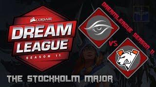 Team Secret vs Virtus.Pro / Bo3 / DreamLeague Season 11 Stockholm Major  / Dota 2 Live