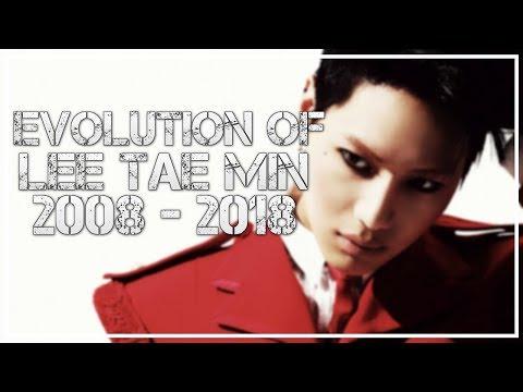 Evolution of SHINee's Taemin (태민) // 2008 - 2018 // #HappyTaeminDay
