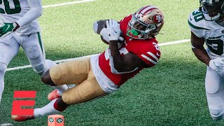 'You could feel how bad the turf is' - 49ers RB Jerick McKinnon on MetLife Stadium | KJZ