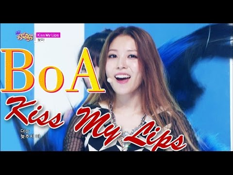 [Comeback Stage] BoA - Kiss My Lips, 보아 - 키스 마이 립스, Show Music core 20150516