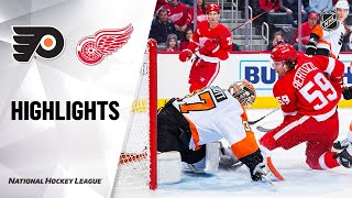 NHL Highlights | Flyers @ Red Wings 2/3/20