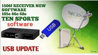 ALL 1506 Receiver AsiaSat 7 Sony Network Working With USB Update