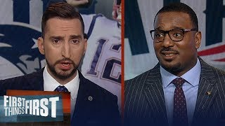 Patriots defense is single best unit in NFL & showed it again vs. Eagles | NFL | FIRST THINGS FIRST