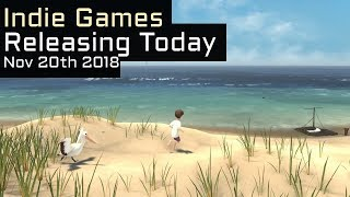 Top 4 New Indie Games Releasing Today - November 20th 2018