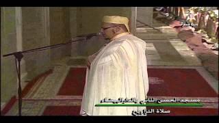 تراويح الشيخ عمر القزابري 1434 الليلة 15 ماتيسر من الانبياء و الحج