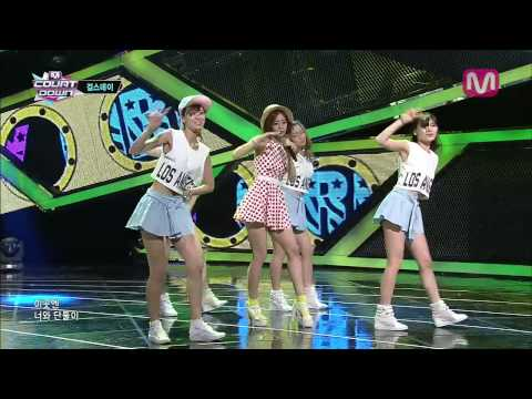 걸스데이_말해줘요 (Tell Me by Girl's Day@M COUNTDOWN 2013.8.1)