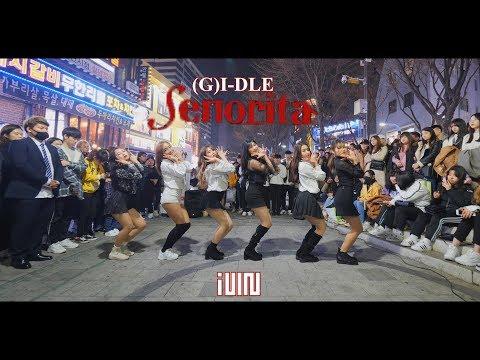 [KPOP IN PUBLIC] (G)I-DLE((여자)아이들) _ Senorita(세뇨리따) Full Cover Dance 커버댄스 4K [6인버전]