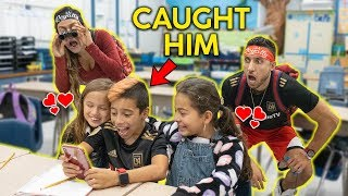 SPYING On Our SON During SCHOOL! **You WON'T BELIEVE It** | The Royalty Family