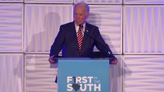 Joe Biden accidentally tells voters he's running for Senate