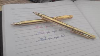 Bút Bi Khắc Vỏ Đạn AR16