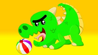 Superzoo team beware! There is a dinosaur inside one of the surprise eggs!