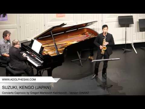 Dinant 2014 - SUZUKI, KENGO (Concierto Capriccio by Gregori Markovich Kalinkovich - Version DINANT)
