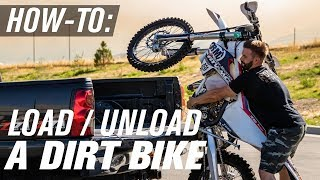 How To Load/Unload A Dirt Bike