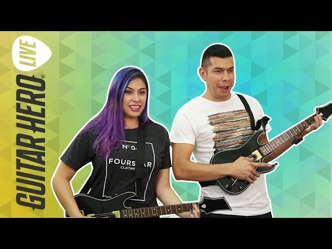 CLOSE BATTLE - Guitar Hero Live - Husband vs Wife