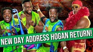 New Day Issue Statement Regarding Hulk Hogan   CM Punk and AJ Lee Cast In Horror Movie