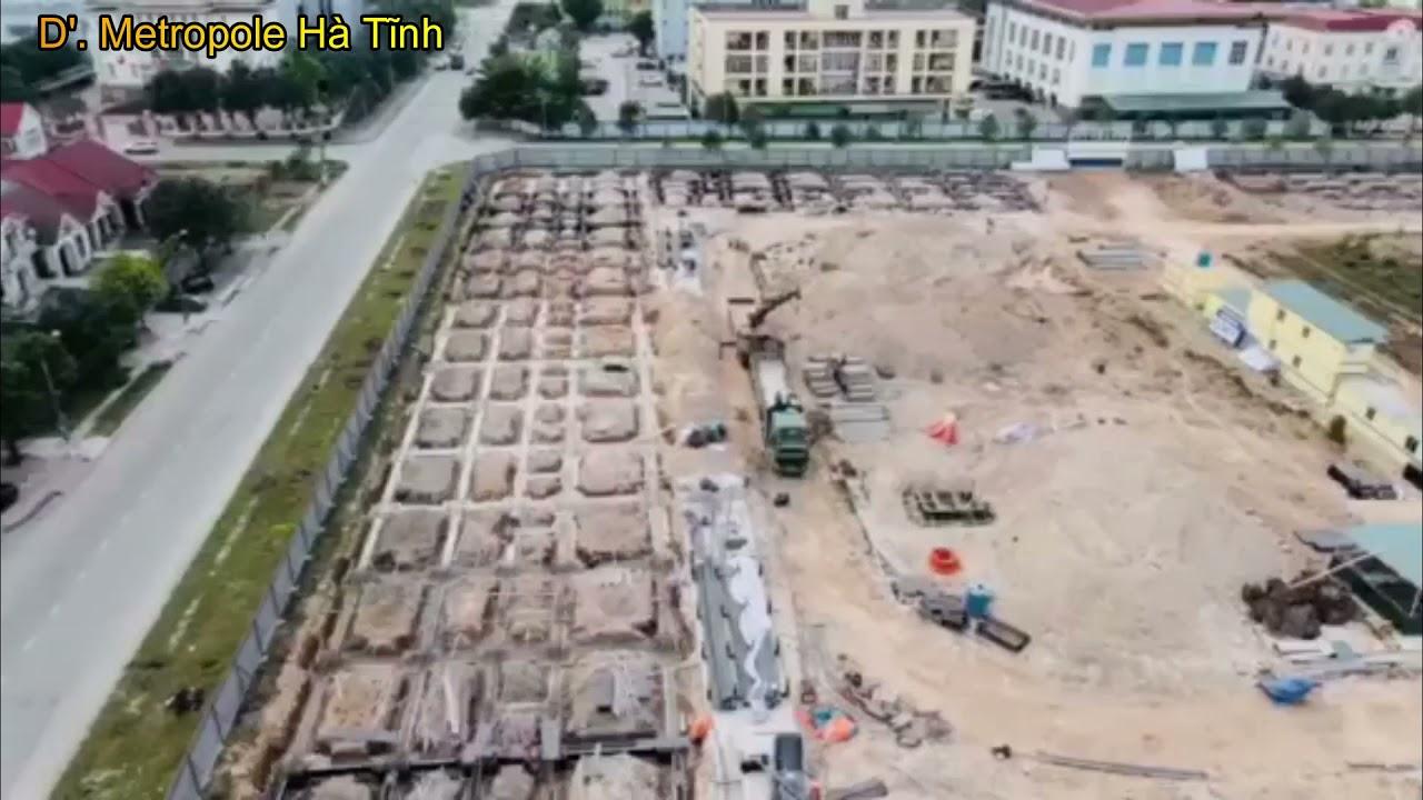 Bán biệt thự nhà phố D'. Metropole tại đường Nguyễn Huy Tự, Hà Tĩnh video