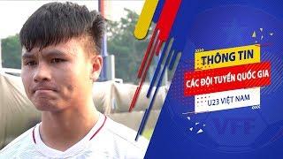 Quang Hải và đồng đội quyết đạt kết quả tốt vì tấm lòng của Thủ tướng và người hâm mô | VFF Channel