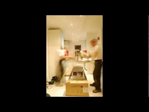 Custom kitchen Installation - time-lapse video