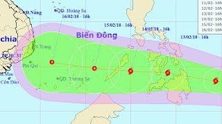 Tin Bão Mới Nhất: Tin về cơn bão gần Biển Đông Bão Sanba