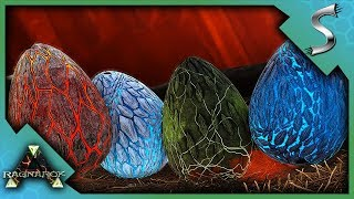 HATCHING FOUR MAX LEVEL WYVERN EGGS! - Ark: Survival Evolved [Cluster E80]