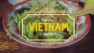 TOP 15 de la cuisine VIETNAMIENNE 🍲 Vietnam   cuisine de rue
