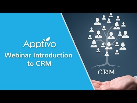 Webinar: Introduction to CRM