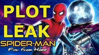FULL PLOT LEAK FOR SPIDER-MAN FAR FROM HOME REVEALED