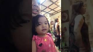 2 year old Baby singing Bohemian Rhapsody Philippines